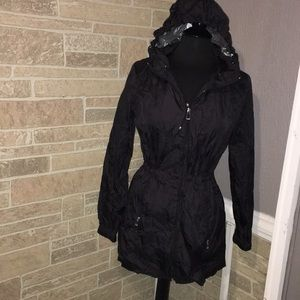 Calvin Klein rain jacket women's size S Like New